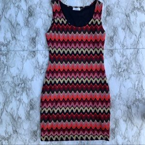 Calvin Klein fitted knit dress